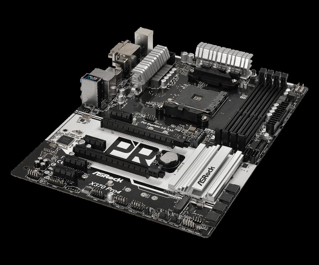 Asrock X370 Pro 4 for AMD Raven Ridge cpu's | TECHJUNKIES